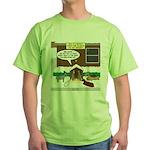 Live Yard Nativity Green T-Shirt