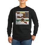 Live Yard Nativity Long Sleeve Dark T-Shirt