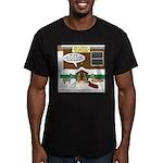 Live Yard Nativity Men's Fitted T-Shirt (dark)