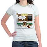 Live Yard Nativity Jr. Ringer T-Shirt