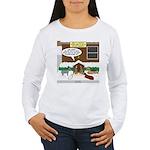 Live Yard Nativity Women's Long Sleeve T-Shirt