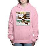 Live Yard Nativity Women's Hooded Sweatshirt