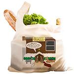 Live Yard Nativity Reusable Shopping Bag