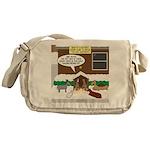 Live Yard Nativity Messenger Bag