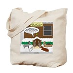Live Yard Nativity Tote Bag