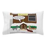 Live Yard Nativity Pillow Case