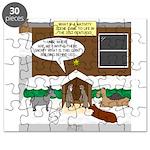 Live Yard Nativity Puzzle
