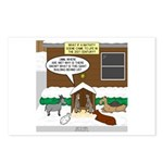 Live Yard Nativity Postcards (Package of 8)