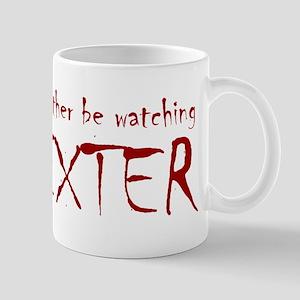 I'd rather be watching Dexter Mug