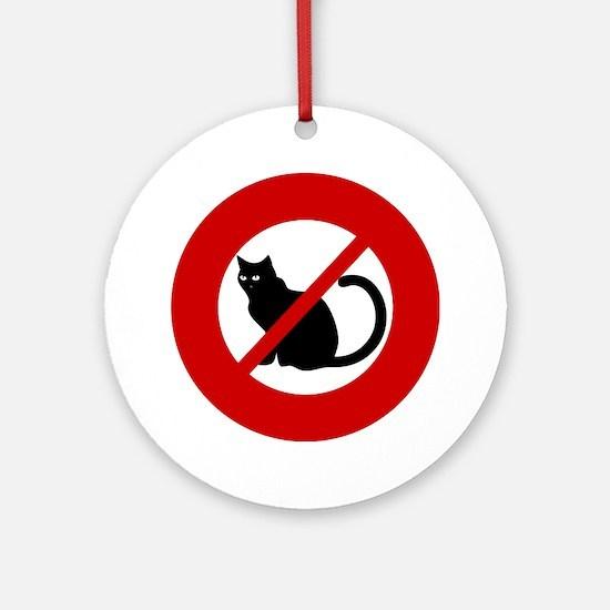 Anti Cats Ornament (Round)