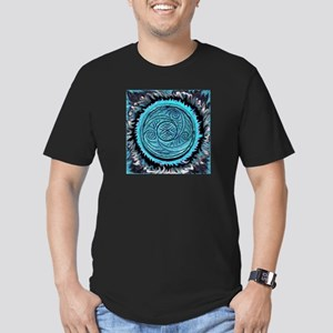 New AquaSpiral Men's Fitted T-Shirt (dark)