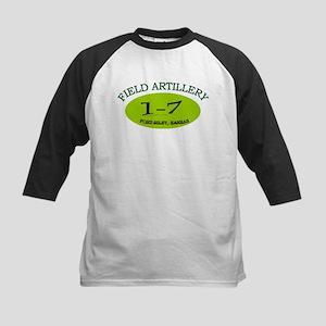 1st Bn 7th Field Artillery Kids Baseball Jersey