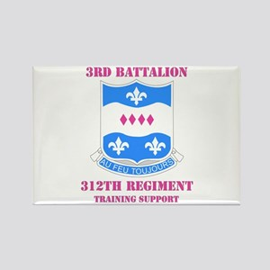 DUI - 3rd Bn - 312th Regt (TS) with Text Rectangle