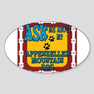 Appenzeller Mountain Dog Sticker (Oval)