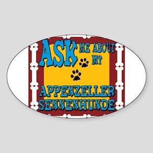 Appenzeller Sennenhunde Sticker (Oval)