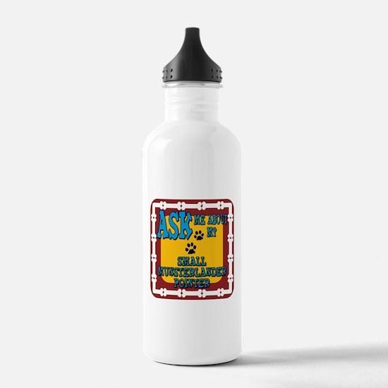 Small Munsterlander Pointer Water Bottle