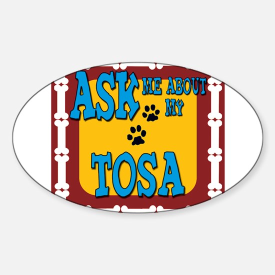 Tosa Sticker (Oval)