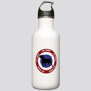 Bull Terrier Bullseye Stainless Water Bottle 1.0L
