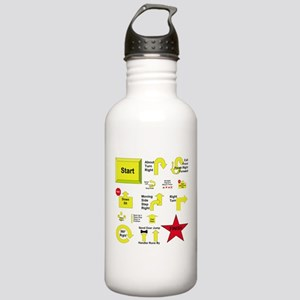 Rally Sport Stainless Water Bottle 1.0L