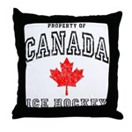 Canada Hockey Throw Pillow
