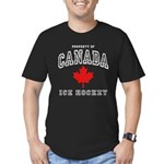 Canada Hockey Men's Fitted T-Shirt (dark)