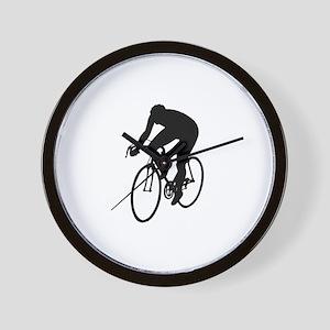 Cycling Silhouette Wall Clock