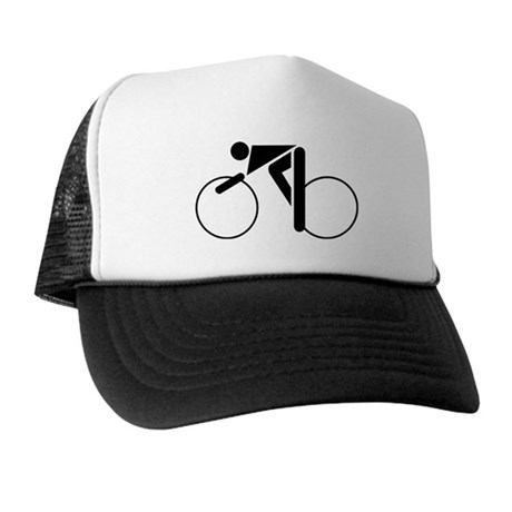 Cycling Silhouette 2 Trucker Hat