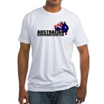 Australian flag Groundfighter Fitted T-Shirt