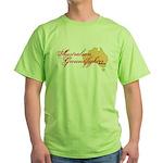 Aussie Groundfighter Green T-Shirt