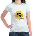Ground fighter G Jr. Ringer T-Shirt