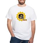 Ground fighter G White T-Shirt