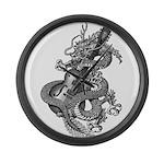 kuuma dragon select Large Wall Clock