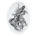 kuuma dragon select Ornament (Oval)