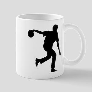 Bowling Silhouette Mug