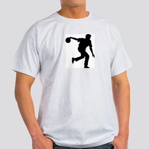 Bowling Silhouette Light T-Shirt