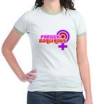 Pretty & Dangerous Jr. Ringer T-Shirt