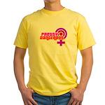 Pretty & Dangerous Yellow T-Shirt