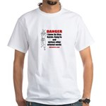 I know Karate & other words White T-Shirt