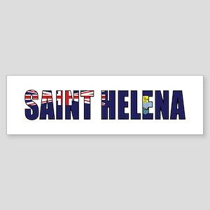 Saint Helena Sticker (Bumper)