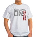 Engine On BJJ Light T-Shirt