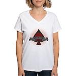 Ace fan Women's V-Neck T-Shirt