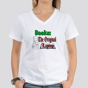 Books: the Original Laptop light colors T-Shirt