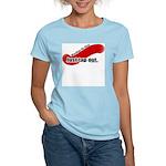 BJJ Just Tap Out Women's Light T-Shirt