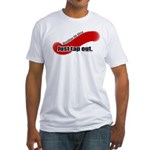 BJJ Just Tap Out Fitted T-Shirt