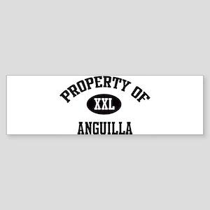 Property of Anguilla Bumper Sticker