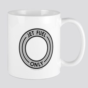 Jet Fuel Only Gray Mug
