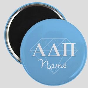 Alpha Delta Pi Diamond Personalized Magnet