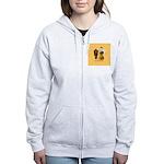 mrfiddlewear Women's Zip Hoodie