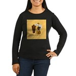 mrfiddlewear Women's Long Sleeve Dark T-Shirt