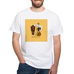 mrfiddlewear White T-Shirt